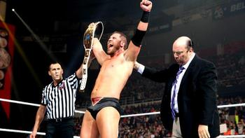 Curtis Axel retained his intercontinental championship against Kofi Kingston. Photo by: WWE