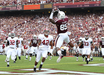 Cameron Clear scored a touchdown vs. Alabama