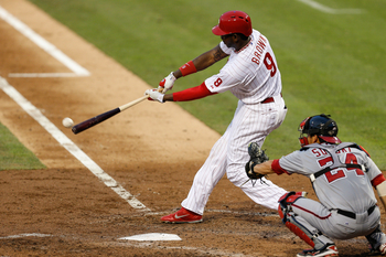 Domonic Brown has been a surprise source of power for the Phillies in 2013