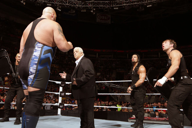 Triple H and The Shield have run the Rhodes out of the WWE...or have they? Photo: WWE.com