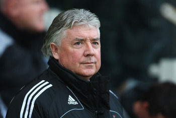 Newcastle's director of football, Joe Kinnear