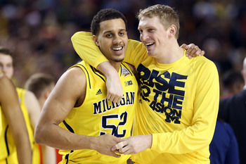 Jordan Morgan simply needs to be an effective defender for the Wolverines.