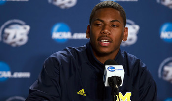 Glenn Robinson III will be moving back to his natural position in 2013-14.