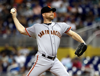 Chad Gaudin was one of the only pitchers that Sabean acquired this past winter.
