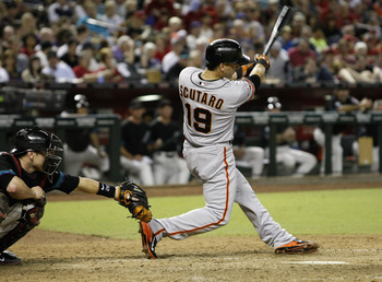 Marco Scutaro was the MVP of the 2012 NLCS.