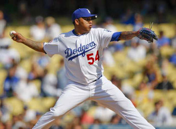 Dodgers Reliever Ronald Belisario