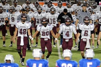 The Flour Bluff Hornets and Leander Lions prepare to play in Texas state football playoffs. (Corpus Christi Caller-Times)