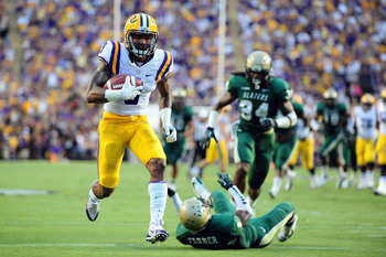 LSU wide receiver Odell Beckham against UAB on Sept. 7.