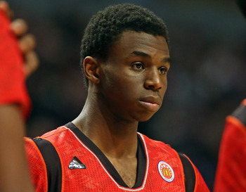 Andrew Wiggins is the prized prospect in the 2014 NBA draft class.