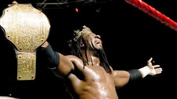 Booker T had a great run as World Heavyweight Champion