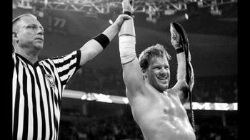 Chris Jericho and Shawn Michaels had an outstanding feud over the title in 2008