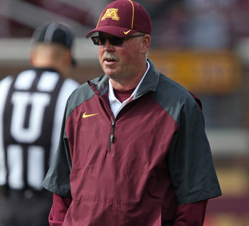 Head coach Jerry Kill