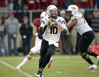 Arizona State QB Taylor Kelly