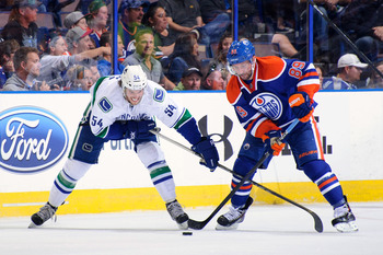 Sam Gagner will miss significant time due to a broken jaw, and the Oilers are already thin down the middle.