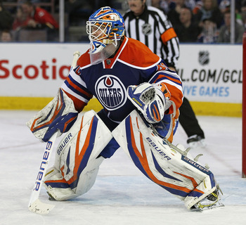 If Devan Dubnyk can repeat his performance from last year he can solidify his position in Edmonton.