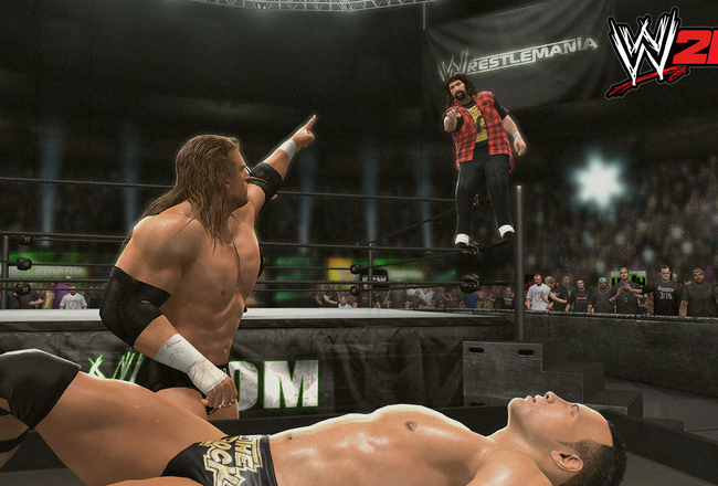 Wwe-2k14-wm16-hhh-rock-show-foley_1600_crop_650x440