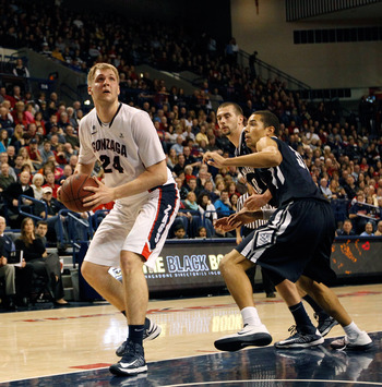 Gonzaga big man Przemek Karnowski could become the go-to guy now that Kelly Olynyk is gone.