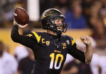 ASU QB Taylor Kelly has been inconsistent so far this season; will he get it together to face the Trojans?