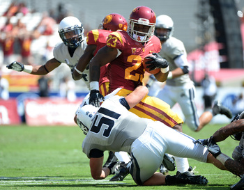 Expect Tre Madden to have another big game for USC against ASU.