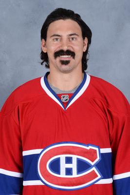 George Parros was acquired to add toughness.