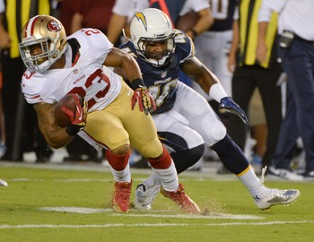Running back LaMichael James has yet to be utilized in 2013.
