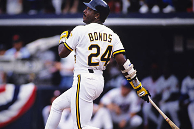 Back in the 1990s, Barry Bonds was both skinny and good.