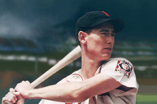 Ted Williams is widely considered the greatest