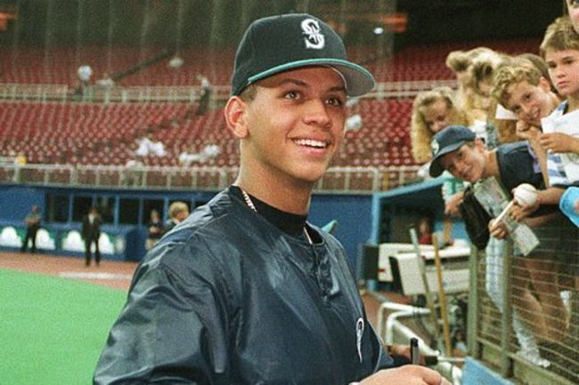 Look how cute Alex Rodriguez used to be!