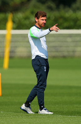 Andre Villas-Boas has adjusted his team's formation this season.