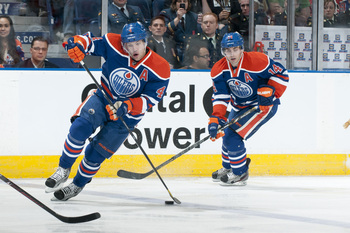 Taylor Hall and Jordan Eberle should emerge and carry the Oilers this season.