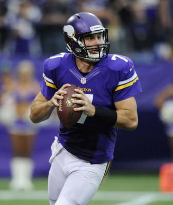 Christian Ponder's job may be in trouble.