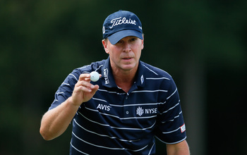 Steve Stricker played less and won more money in 2013.