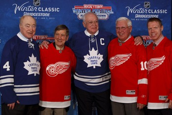 The Winter Classic between Toronto and Detroit will be one of many outdoor games this year.