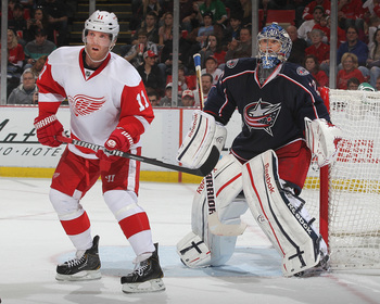 The Detroit Red Wings and Columbus Blue Jackets have moved from the Western to the Eastern Conference.