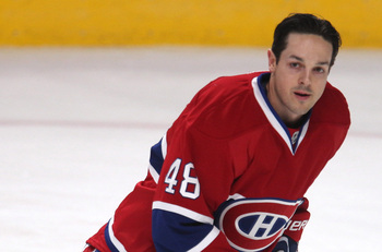 Daniel Briere was Montreal's top offseason signing.