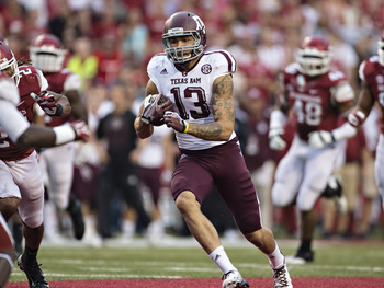 Texas A&M WR Mike Evans