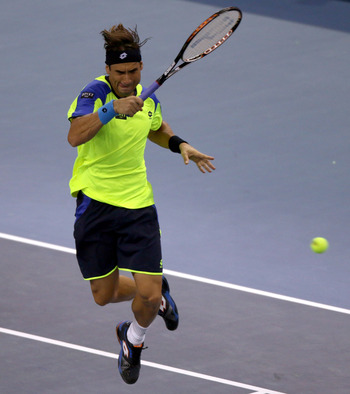 David Ferrer still hasn't found his footing in 2013.