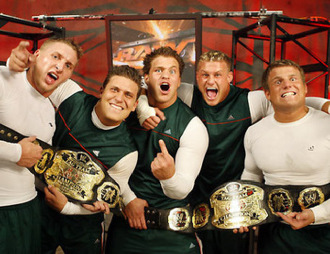 Note: only one of these guys went on to have a career (from WWE.com)