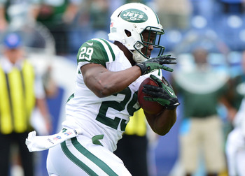 Bilal Powell has 292 of the Jets' 492 rushing yards.