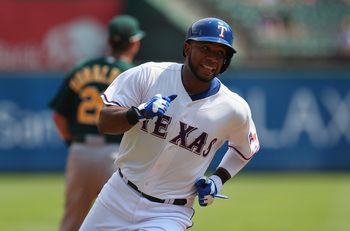 Elvis Andrus saved his season with a solid second-half.
