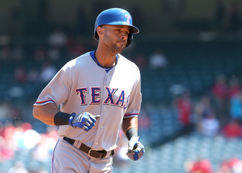 Alex Rios came through nicely for the Rangers after the team acquired him in August.