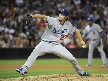 Clayton Kerhsaw will take the mound for the Dodgers in Game 1.