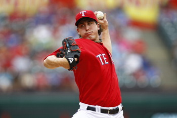 Derek Holland made for a nice third arm in Texas' rotation this season.