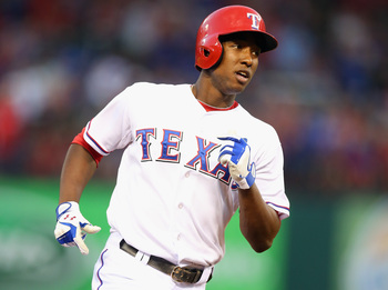 Former top prospect Jurickson Profar didn't quite live up to expectations this season with the Rangers.