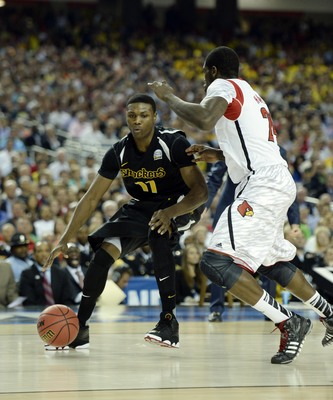 Wichita State's Cleanthony Early is one of the best power forwards in the country at scoring off the bounce.