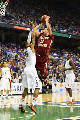Ryan Anderson (12) scored 14 points in a season-ending loss to Miami. Anderson scored in double figures in 26 of 32 games last year.