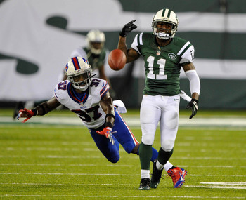 The Jets' Jeremy Kerley's longest punt return in 2013 has been 12 yards.