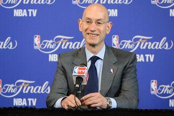 New NBA Commissioner Adam Silver has some big shoes to fill.
