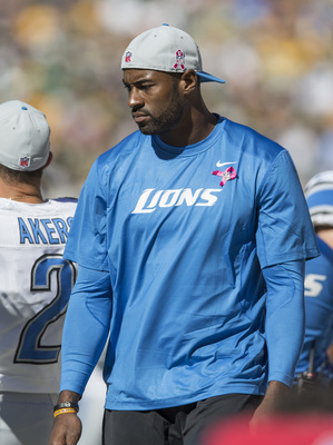 Megatron was inactive Sunday against the Packers