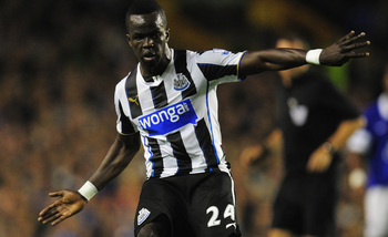 Tiote hasn't reproduced his best form lately.
